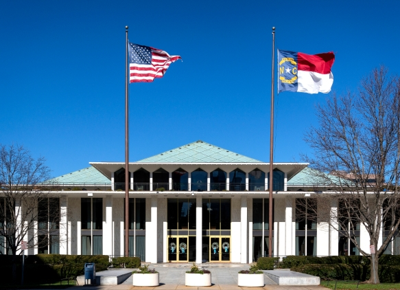 NC Legislature - building
